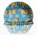 Cake cups Baby Blauw