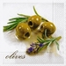 Servetten Olives with herbs