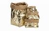 UASHMAMA Paper Bag M - Goud