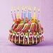Servetten Birthday Cake