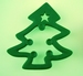 Kerstboom uitsteekvorm